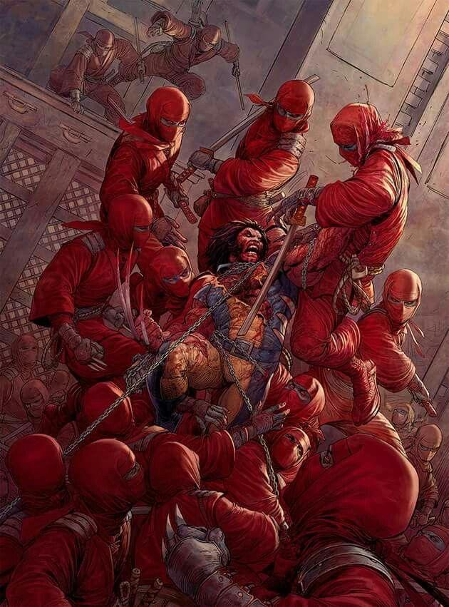 Wolverine vs The Hand Wolverine Pinterest Comic, Marvel and - led leisten küche