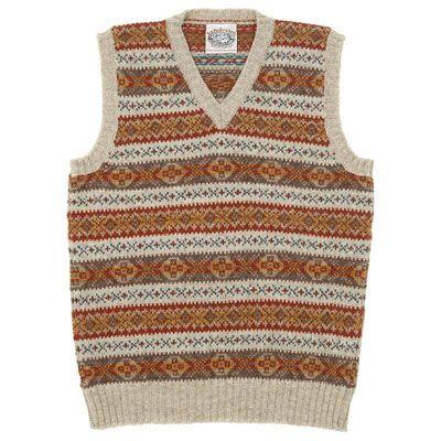 Jamieson's of Shetland Fairisle Vest | knitting | Pinterest | Fair ...
