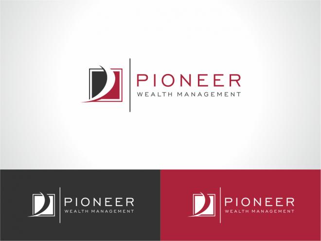 Pioneer Wealth Management Pioneer Wealth Management Winner Client Testimonial Selected Wealth Management Management Logo Logo Design Contest