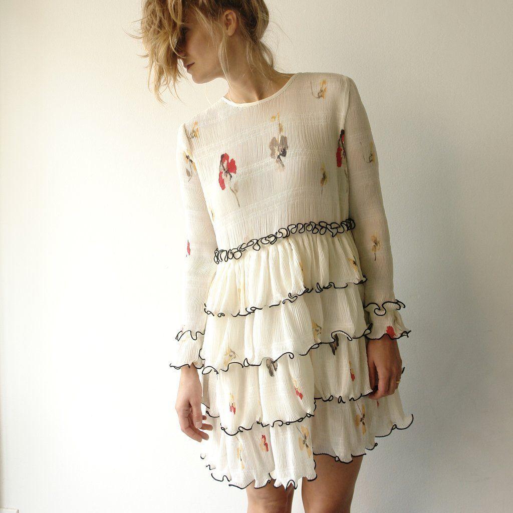 cab10a7c Ganni stone st jersey kjole
