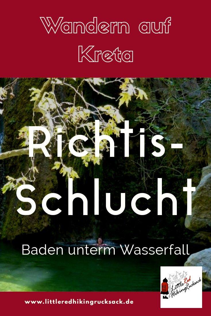 , Baden unter dem Wasserfall – die Ríchtis-Schlucht im Osten Kretas – Little Red Hiking Rucksack – der nachhaltige Outdoorblog, My Travels Blog 2020, My Travels Blog 2020