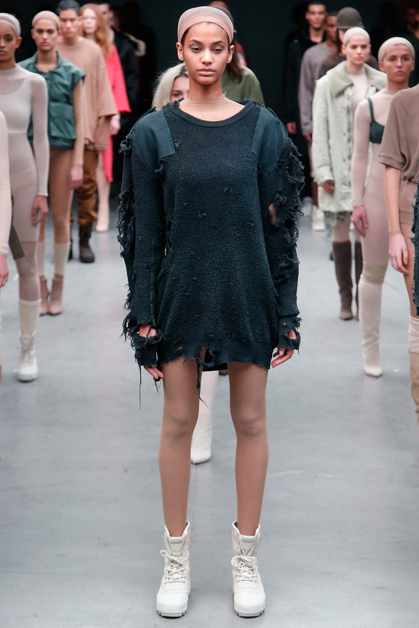 e530a47983036 Kanye West x Adidas Originals Fall 2015 Ready-to-Wear - Collection -  Gallery - Style.com