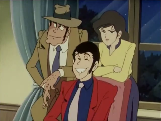 Hey Zenigata Why Are You With Lupin And Fujiko What Episode Of The Red Jacket Series Is This Lupin Iii Anime Iii