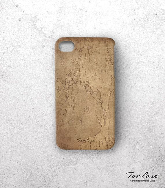 Map iphone 4 case free shipping iphone 4s case by toncase on etsy items similar to world map iphone 5 case world map iphone 4 case map iphone 4 5 case high quality printing vintage world map of brown on etsy gumiabroncs Images