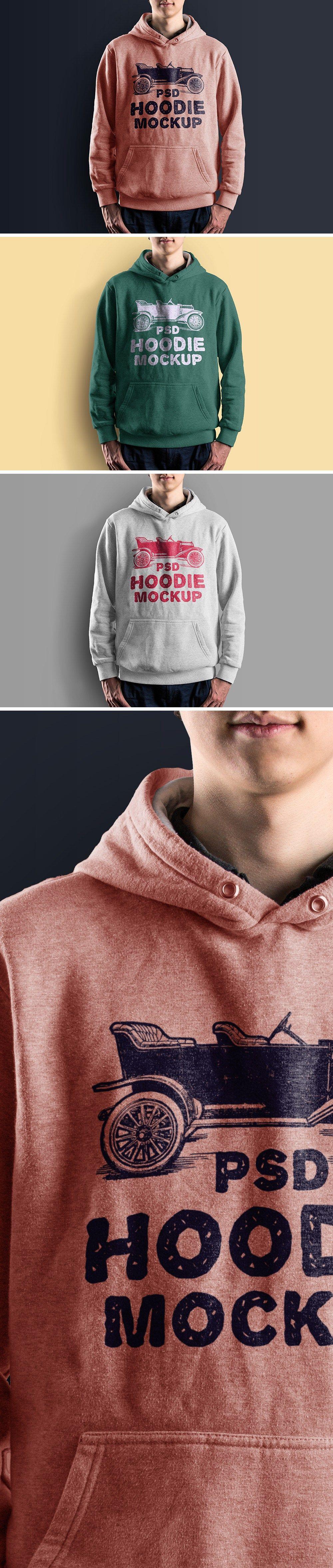 Download Hoodie Mockup Psd Hoodie T Shirt Desain Pakaian