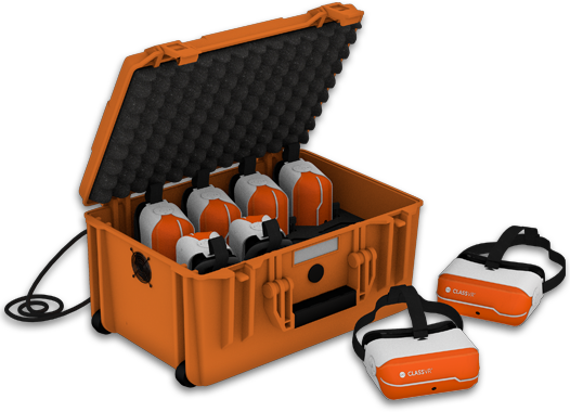 Virtual Reality Classroom Set Classroom control, Virtual