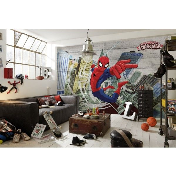 Panoramique Spiderman Ultimate Poster Komar Panoramique Chambre