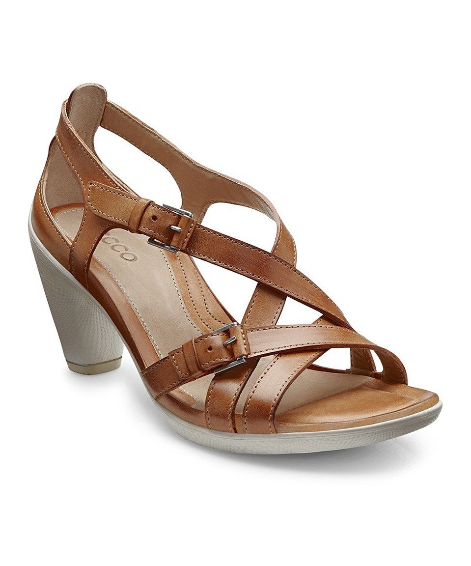 This ECCO Lion Sambal Sculptured Leather Sandal by ECCO is perfect! #zulilyfinds