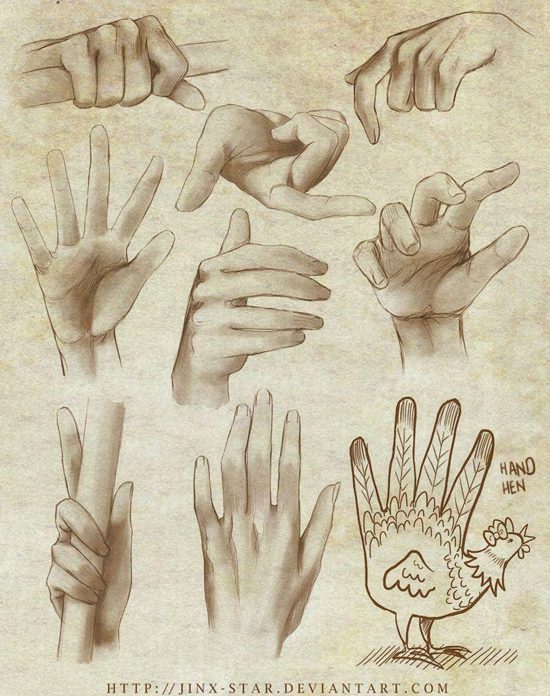+HAND STUDY+ by =jinx-star on deviantART