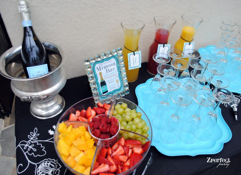 Zperfect Party Mimosa Bar Baby Amp Co Breakfast At