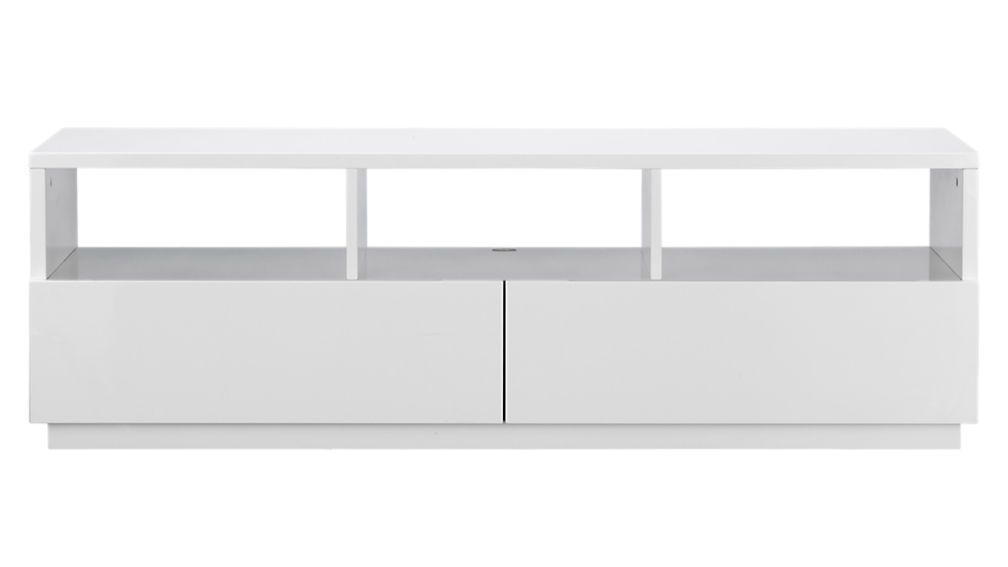 Chill White Media Console Reviews Media Console Wood Media