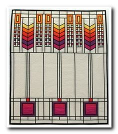 stained glass quilt art deco - Google Search | quilting ... : art deco quilt - Adamdwight.com