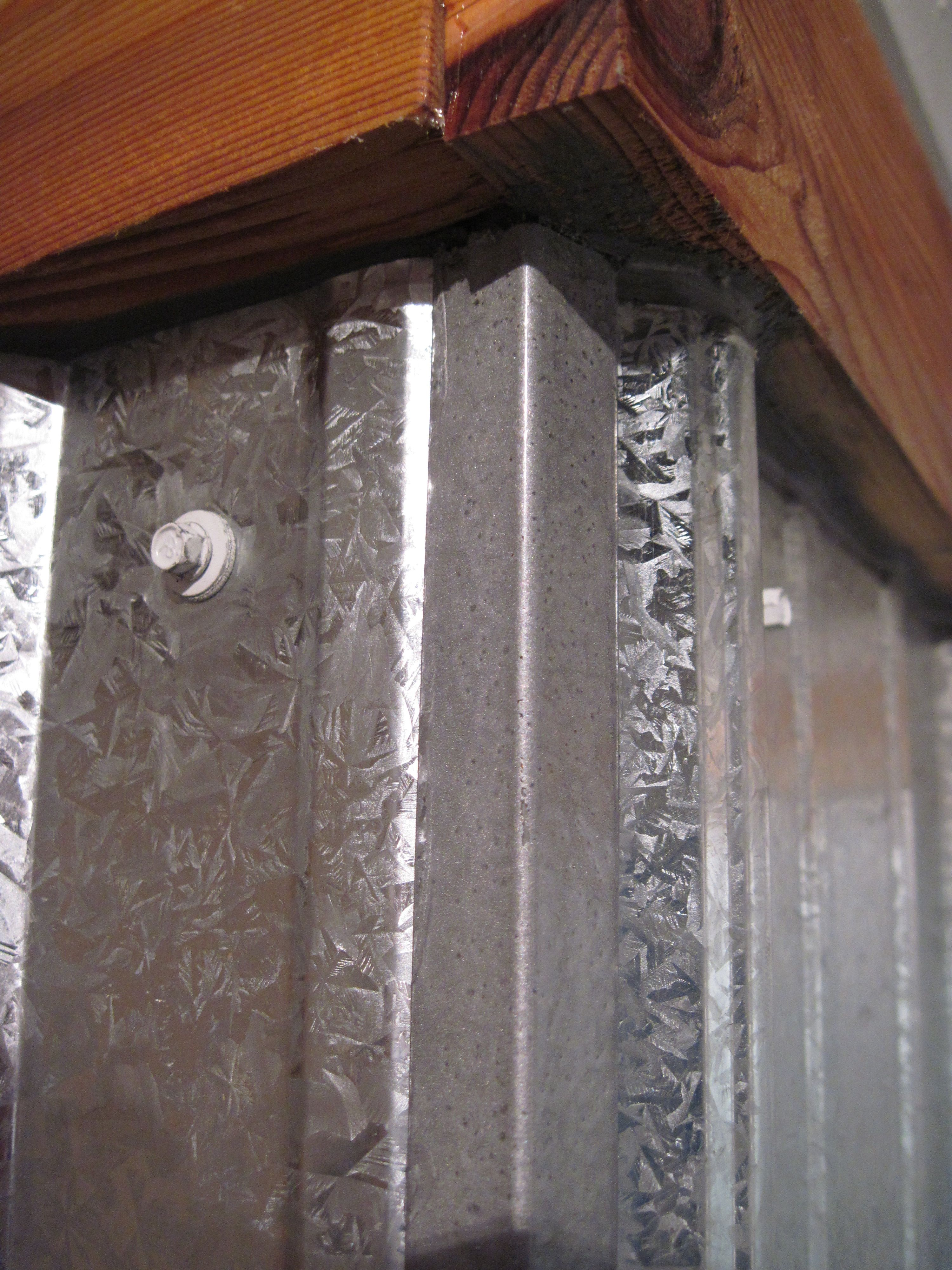 galvanized shower surround: a complete how-to | shower surround
