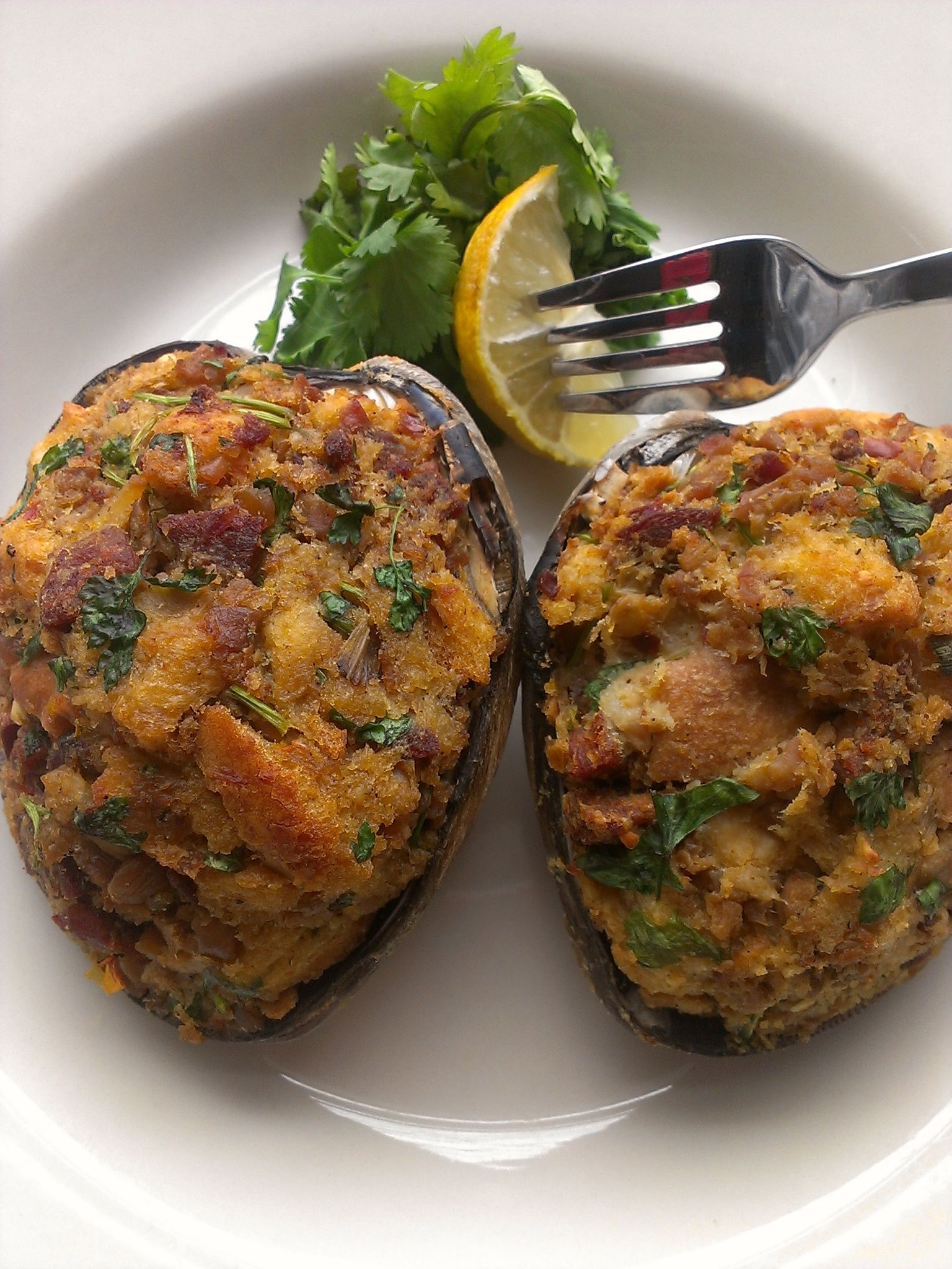 Stuffed Quahogs have been one of my favorites since I can remember ...