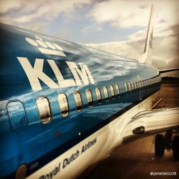 One of the greatest brands Holland has to offer: #KLM. #greetingsfromnl