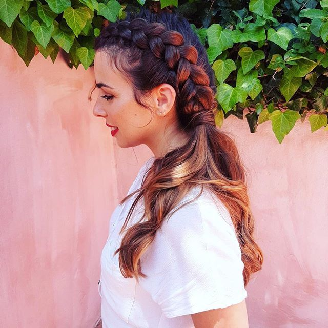[New] The 10 Best Hairstyle Ideas Today (with Pictures)   Ser madrinha. . Grati #bridemaidshair