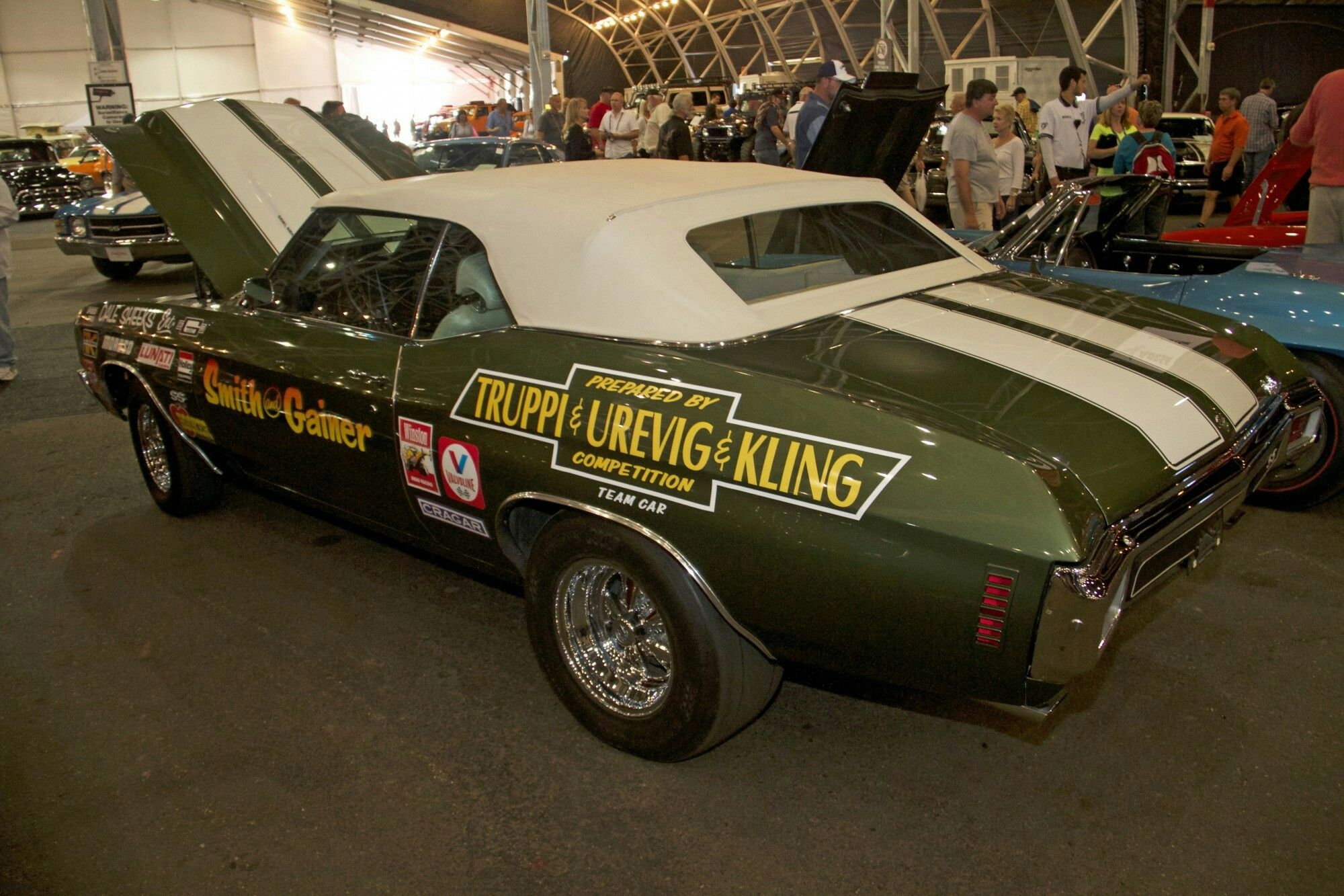 1969 cougar classic car restoration by doug jenkins garage - Claude Urevigs Truppi Kling Chevelle