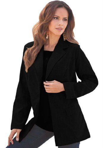 7e2b64226 Roamans Women's Plus Size Bendover Blazer - Listing price: $81.56 ...