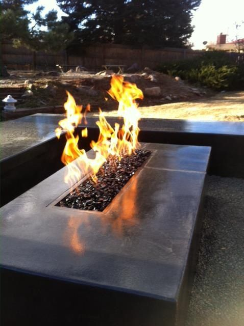 concrete fire pit green by nature outdoor fire pit table fire rh pinterest com