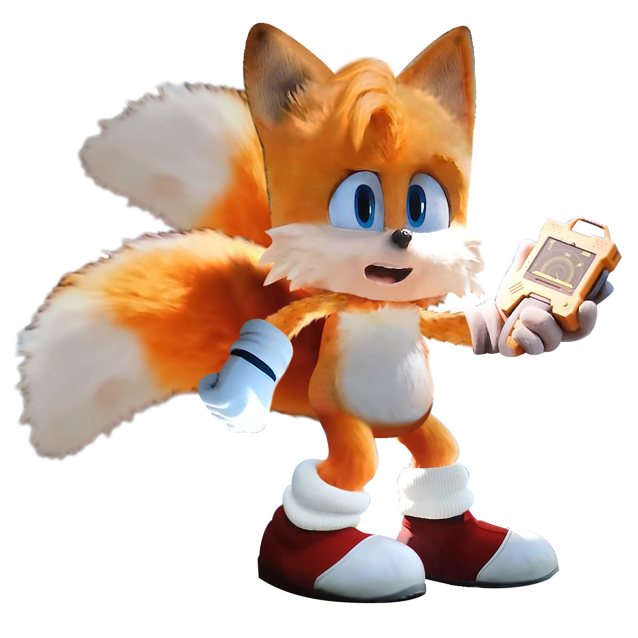 Sonic Movie Tails With Radar By Soniconbox On Deviantart In 2020 Sonic Hedgehog Movie Sonic Heroes