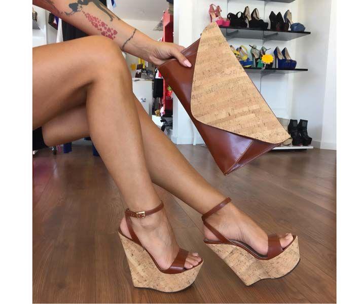 huge discount 6b8d9 8f3b6 Zeppe : Zeppa Scarpami Sughero Cuoio | Shoes | Scarpe ...