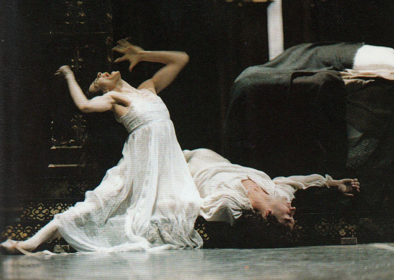 Alessandra Ferri In The Final Scene Of Romeo And Juliet Dance
