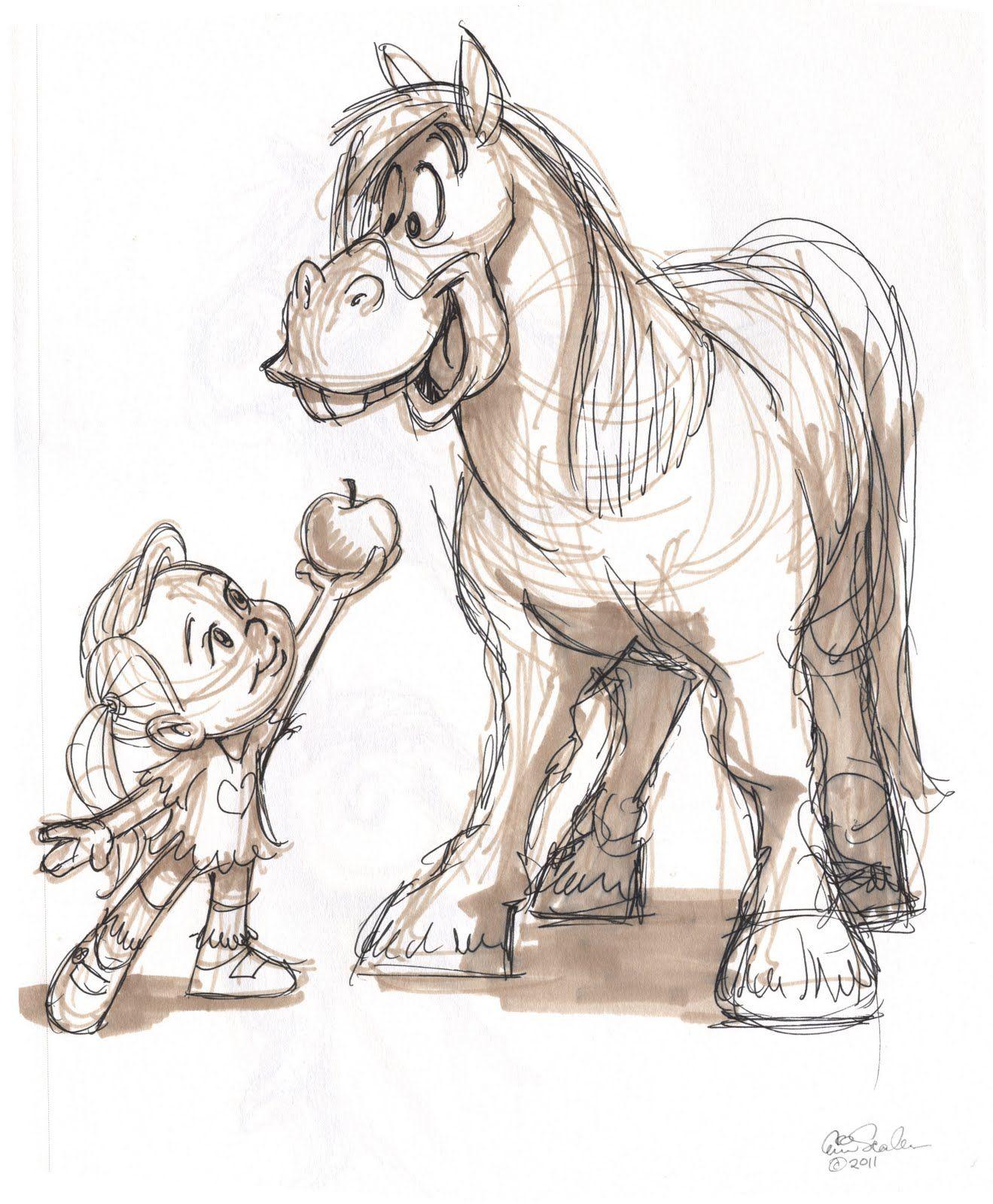 Надписями хорошее, прикольные рисунки лошадей