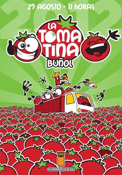 L'internationale des joyeuses tomates  associées vous convie à la Tomatina de Buñol 2012. 29 août, 11heures, soyez ponctuels.