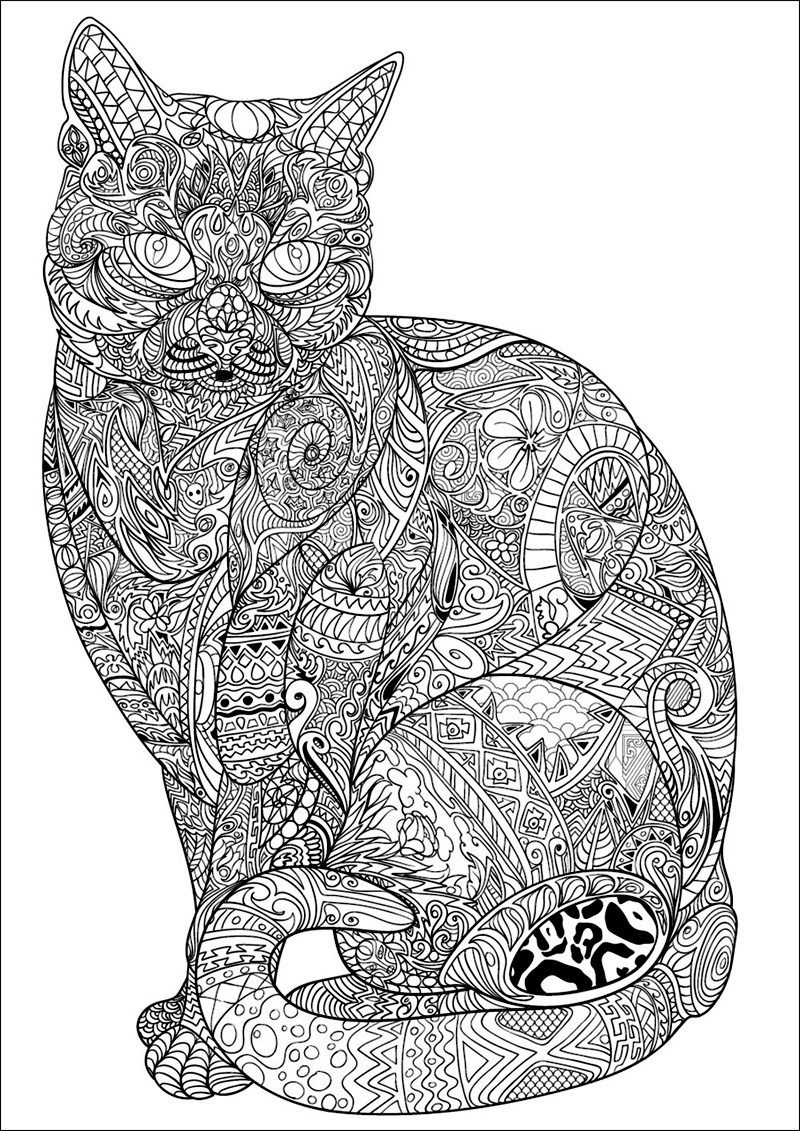 Pin On Adult Coloring Pages [ 1131 x 800 Pixel ]