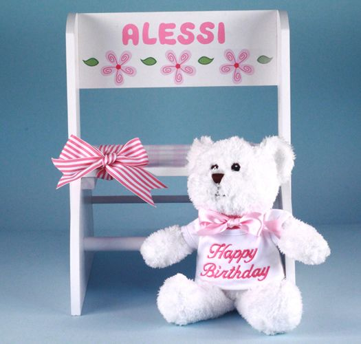 First birthday personalized step stool girl babys first get personalized step stool first birthday gift girl discover the unique first birthday gifts girl for the new parents negle Gallery