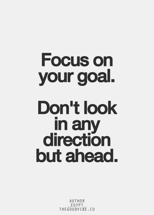 Stay Focused Quotes New Photo Lilibaba  People Goal And Motivation Design Inspiration