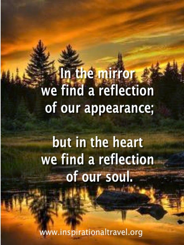 Self Reflection Quotes Quotes About Self Reflection  Inspirationaltravel  Words Of .