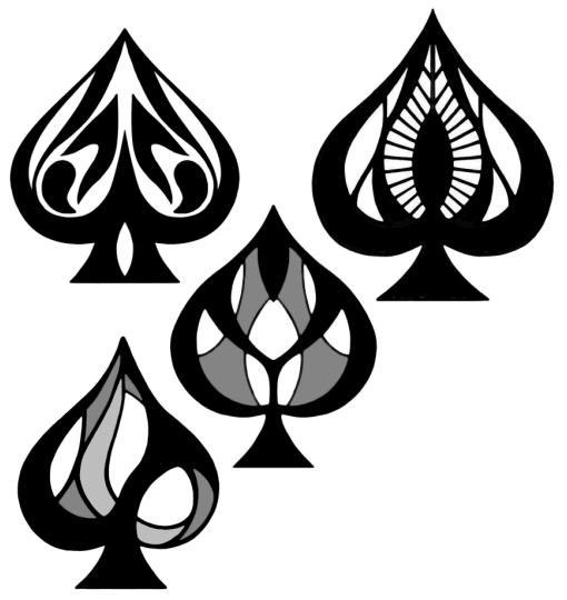 Some Ace Of Spades Designs By Kota12 On Deviantart Ace Of Spades Tattoo Ace Tattoo Spade Tattoo