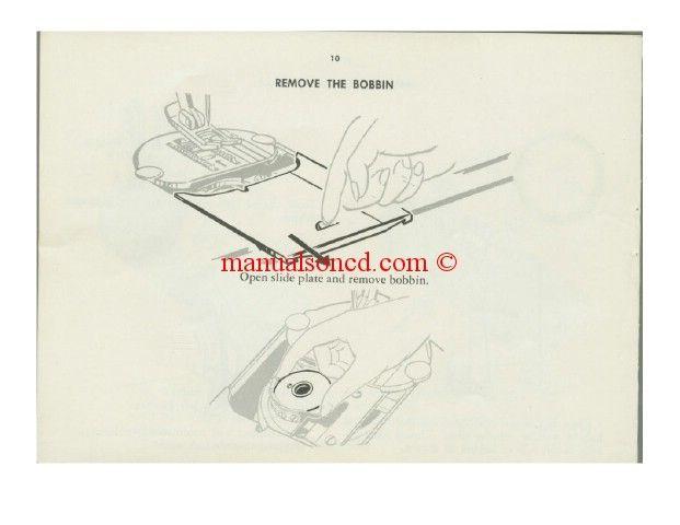 singer 401 slant o matic model sewing machine manual download your rh pinterest se Printable Singer Sewing Machine Manuals Singer Sewing Machine Manuals