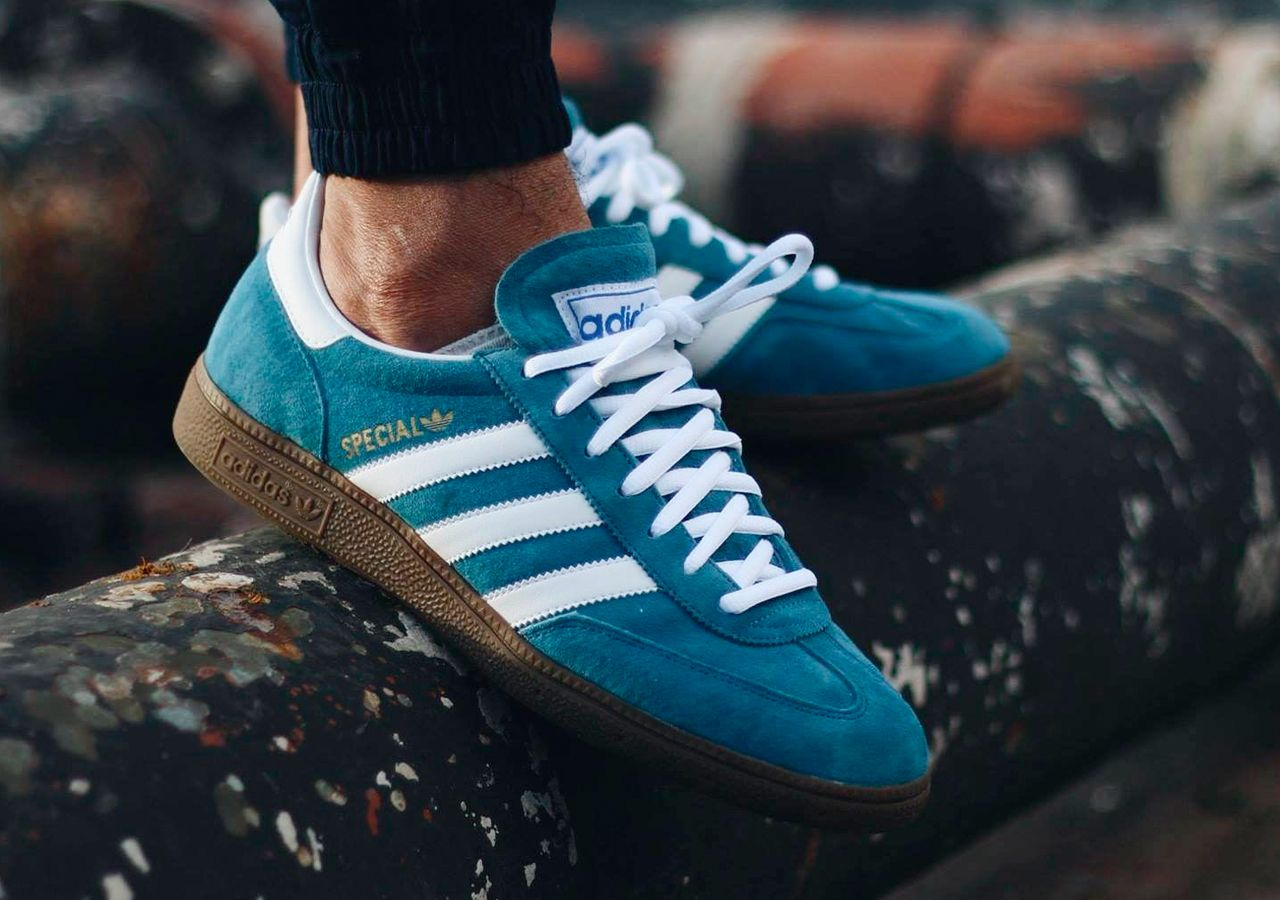 on feet shots of great deals 2017 best service sweetsoles: Adidas Handball Spezial - Blue/White (by sum.tam ...