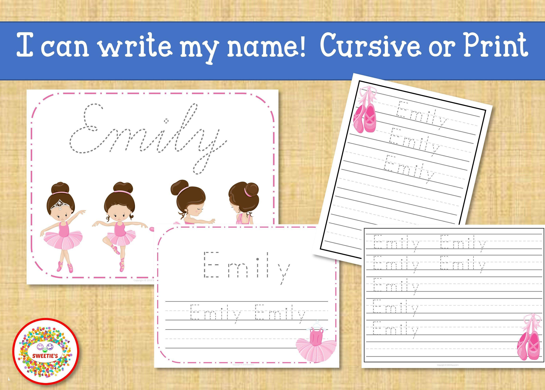 Name Tracing Handwriting Worksheet First Grade Letter Etsy Handwriting Worksheets Elementary Learning Name Tracing [ 2143 x 3000 Pixel ]