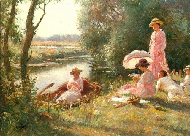 William Kay Blacklock 1872 1922 British Painter Blog Of An Art Admirer Painter Blog Art Artist Art