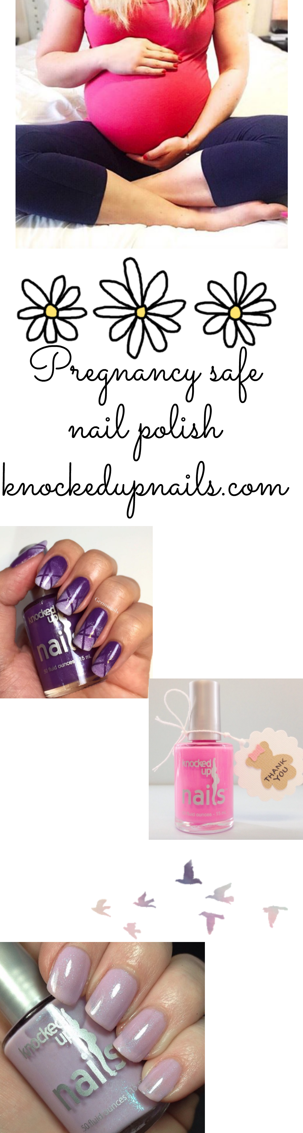 Knocked Up Nails - Pregnancy safe nail polish! | Knocked Up Nails ...