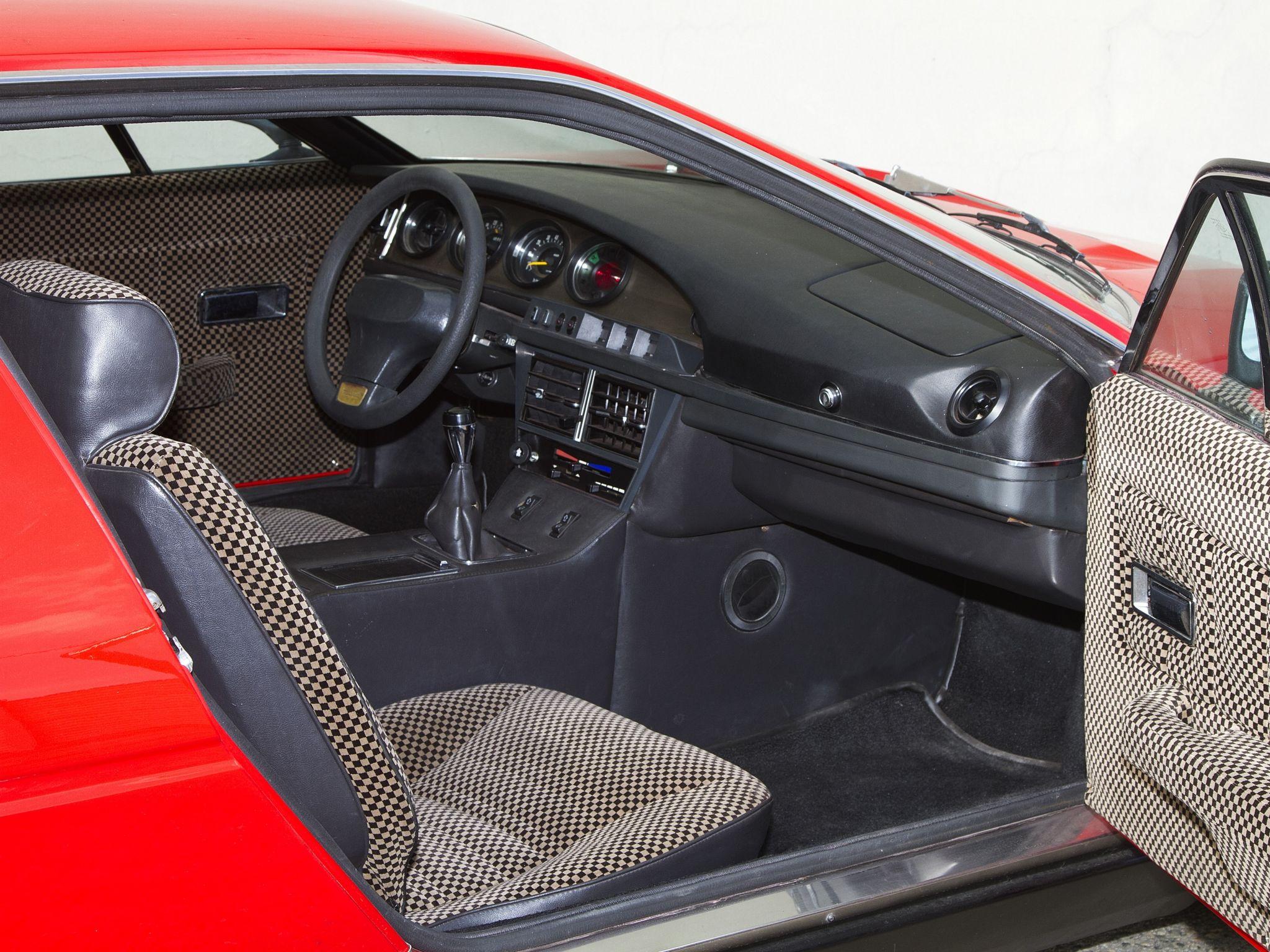 Interior Maserati Merak Worldwide (AM122) \'1972–75 | Auto d\'epoca ...