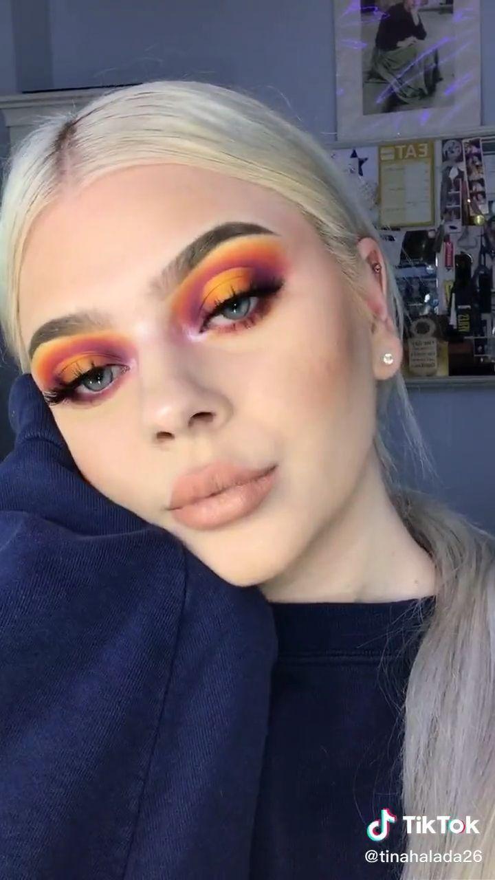 Tinahalada26 On Tiktok Source By Xsayrax Beauty Videos Makeup Maquillaje Hermoso De Ojos Maquillaje Ojos Azules Maquillaje De Ojos Natural