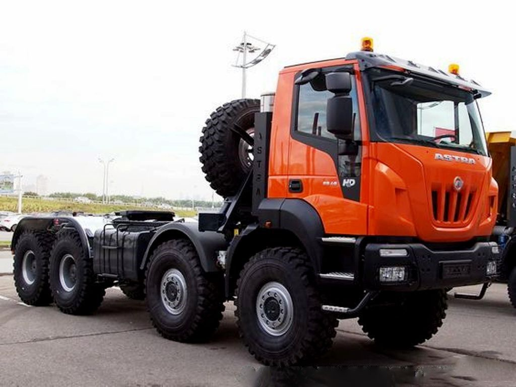 hight resolution of 8x8 heavy duty prime mover