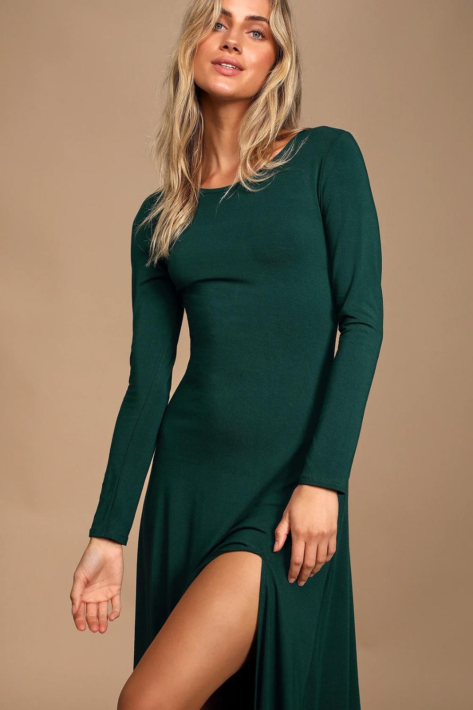 Swept Away Forest Green Long Sleeve Maxi Dress Maxi Dress With Sleeves Long Sleeve Maxi Dress Maxi Wrap Dress [ 1500 x 1000 Pixel ]