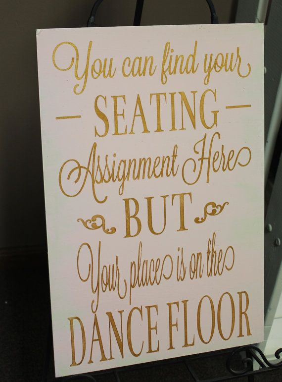 Wedding signs/ Reception tables/Seating by gingerbreadromantic