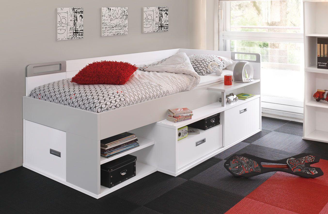 quelques exemples de chez gautier le lit compact bas am nager la chambre des filles. Black Bedroom Furniture Sets. Home Design Ideas