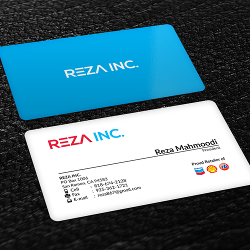 Create business card for fuel retailer owner of gas stations and create business card for fuel retailer owner of gas stations and convenience stores colourmoves