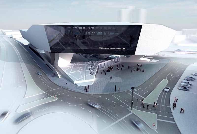 Architects Stuttgart delugan meissl associated architects porsche museum stuttgart