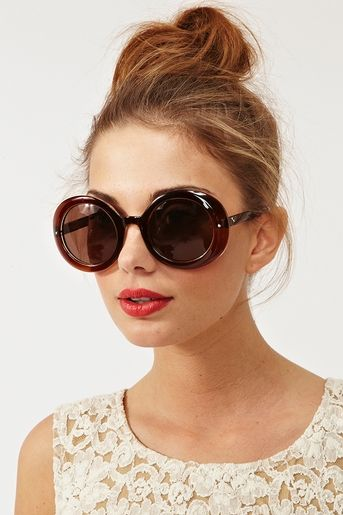 why do i love these so much ! Lola Circle Shades in Amber   Got my ... 8cfcac6410