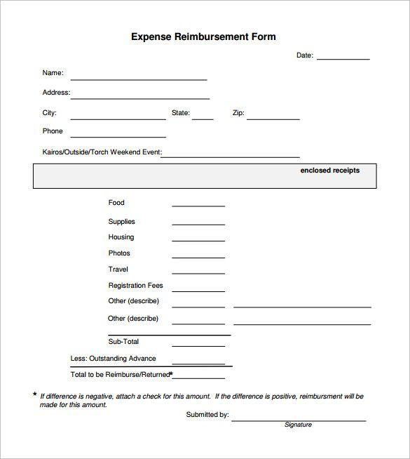 Expense Reimbursement Form Templates 17 Free Xlsx Docs Pdf Samples Templates Email Newsletter Template Creating A Newsletter