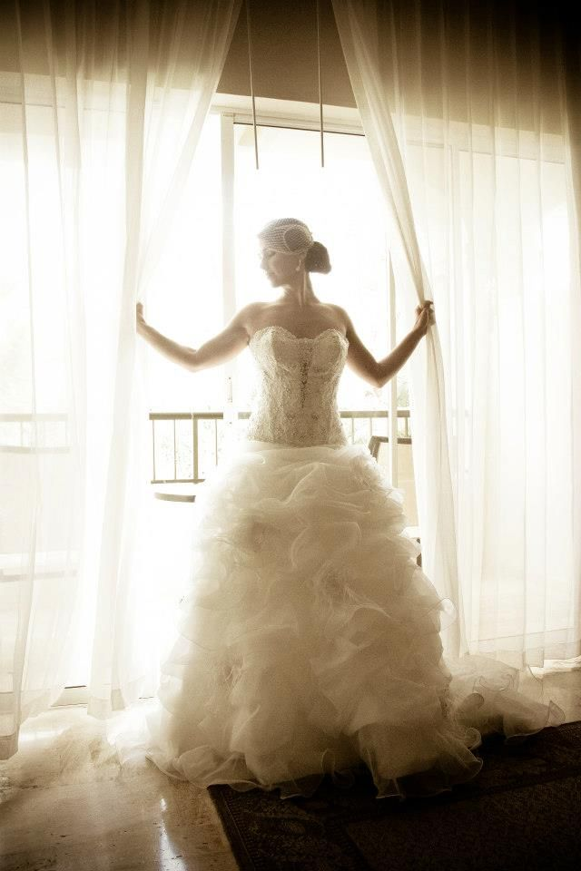 My Allure Couture Wedding Dress.