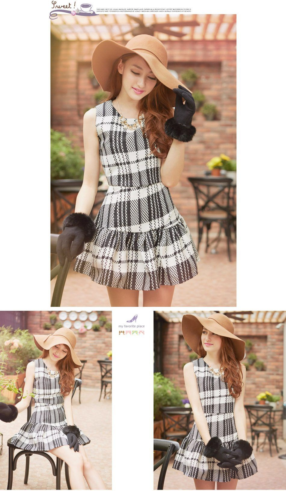 Checks dress usd favourite online fashion store